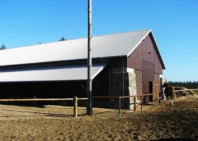 Stajnia w stodole