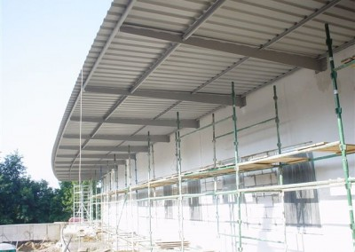 Konstrukcje stalowe Alfa Centrum w Olsztynie