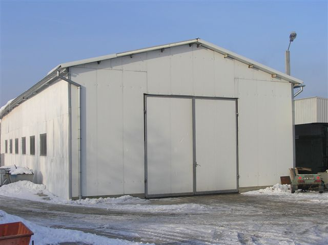 Hala produkcji konstrukcji stalowych