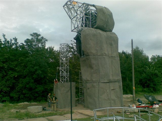 Konstrukcja ścianki wspinaczkowej