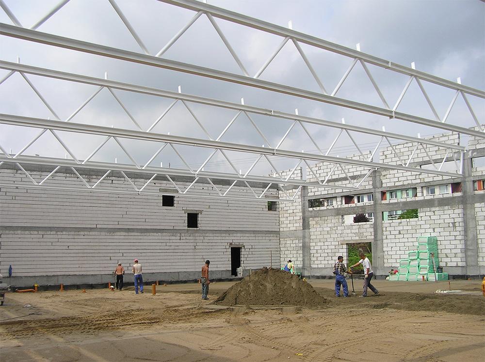 Wspaniały Dach jednospadowy - Gillmet Sp. z o.o. JM84