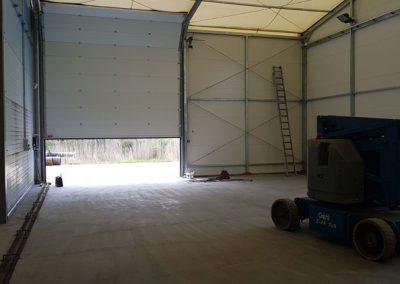 Hala namiotowa z pompowanym dachem 10x20m